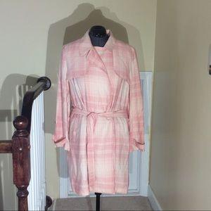 Women's LC Lauren Conrad trench style coat